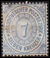 1869. NORDDEUTSCHER POSTBEZIRK.  7 KREUZER.  () - JF320120 - North German Conf.