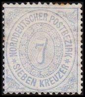 1869. NORDDEUTSCHER POSTBEZIRK.  7 KREUZER.  () - JF320121 - North German Conf.