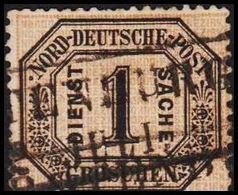 1870. NORDDEUTSCHER POSTBEZIRK. DIENST SACHE 1 GROSCHEN.  () - JF320130 - North German Conf.