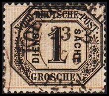 1870. NORDDEUTSCHER POSTBEZIRK. DIENST SACHE 1 GROSCHEN.  () - JF320131 - North German Conf.
