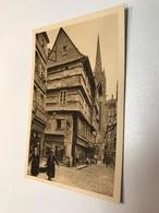 France Finistere Quimper Small Medical Shop Orthopedie Optique Yvon 0391 Post Card Postkarte POSTCARD - Quimper