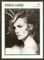 PORTRAIT DE STAR 1980 ÉTATS UNIS USA - ACTRICE JESSICA LANGE - UNITED STATES USA ACTRESS CINEMA FILM PHOTO - Fotos