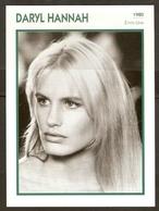 PORTRAIT DE STAR 1980 ÉTATS UNIS USA - ACTRICE DARYL HANNAH - UNITED STATES USA ACTRESS CINEMA FILM PHOTO - Fotos