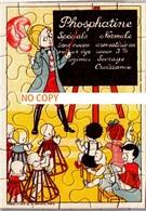 Puzzle Publicitaire PHOSPHATINE Avec Sa Pochette - A L'école - Scans Recto-verso - Publicités