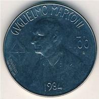 SAN MARINO - 1984 -   100 Lire - KM 165 UNC From Divisionale - GUGLIELMO MARCONI - San Marino