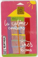 La Cabine Couleurs -- Ines 6 Ans --Collection Dessins D'enfants - 120 U - Telecom Operators