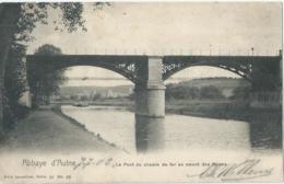 Abbaye D'Aulne - Le Pont Du Chemin De Fer En Amont Des Ruines - Nels Serie 10 No 83 - 1903 - Thuin