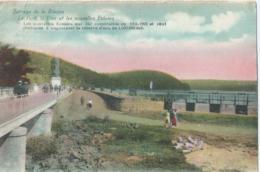 Barrage De La Gileppe - Le Pont, Le Lion Et Les Nouvelles Ecluses - Edition Schyns. Béthane - 1925 - Gileppe (Barrage)