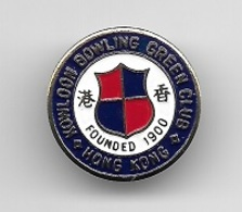 Pin's, Broche  Sport  BOWLING  KOWLOON  BOWLING  GREEN  CLUB, HONG  KONG  Voir  Description - Bowling
