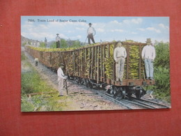 Train Load Of Sugar Cane   Cuba  Ref  3856 - Cuba