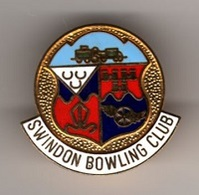 Pin's, Broche  Sport  BOWLING  SWINDON  BOWLING  CLUB - Bowling