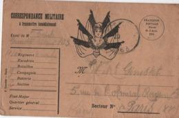Carte Postale Ancienne En Franchise/ Correspondance Militaire/ Gourcier /Paris//1915      TIMB132 - War 1914-18