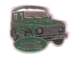 V222 Pin's 4x4 ROVER LAND Vert Propriétaire Jaguar Land Rover Qualité Arthus Non Signé Achat Immédiat - Jaguar