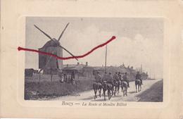 (51 - BOUZY MOULIN Billiot Mühle Mill Molen  Carte   Allemande  1° Guerre TOP !!!!!! - Francia