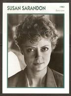 PORTRAIT DE STAR 1983 ÉTATS UNIS USA - ACTRICE SUSAN SARANDON - UNITED STATES USA ACTRESS CINEMA FILM PHOTO - Fotos
