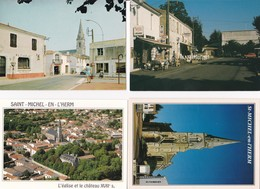 Lot De 8 CPSM ET MODERNE SAINT MICHEL EN L'HERM VENDEE / (2) - Saint Michel En L'Herm