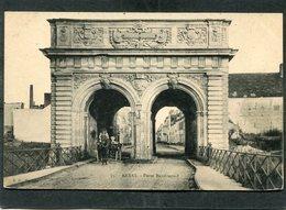 CPA - ARRAS - Porte Baudimond, Animé - Attelage - Arras