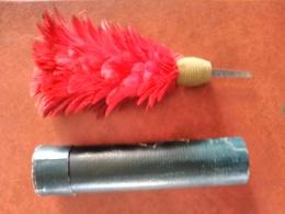 Plumet Casque De Pompier Fin XIX ème Avec Sa Boite. Rare. Belle Couleur. - Headpieces, Headdresses