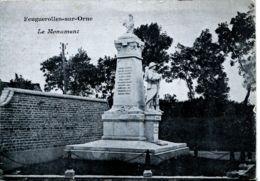 N°2291 T -cpa Feuguerolles Sur Orne -le Monument- - France