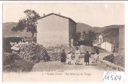 11567 FRD20B  CPA GALERIA VUE INTERIEURE DU VILLAGE  1910  TBE - France