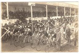 CYCLISME - CARTE PHOTO - Supposé BORDEAUX (33), STADE ALFRED DUPRAT - Marcel VERDEUN - Cycling