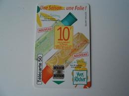 (F10) Yves Rocher - Télécarte - Parfumkaarten