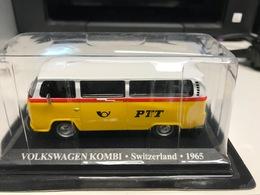 VW VOLKSWAGEN KOMBI TAXI SUISSE 1965 - 1/43 - COMME NEUVE SOUS BLISTER - Unclassified