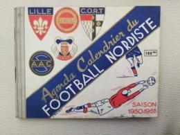 EQUIPE DE LILLE FOOTBALL NORDISTE SAISON 1950-1951 SUPERBE LIVRE - Books