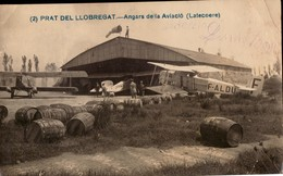 AVIATION BARCELONE ESPAGNE AEROPOSTALE  LATECOERE  CARTE PHOTO - Aviation