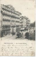 Brussel - Bruxelles - Le Grand-Hôtel - 1901 - Cafés, Hôtels, Restaurants
