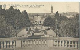 Brussel - Bruxelles - Panorama - Vue Du Mont Des Arts - Albert No 94 - 1938 - Monuments, édifices