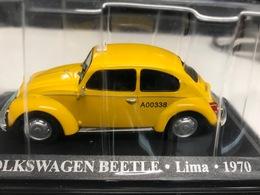 VW VOLKSWAGEN BEETLE COCCINELLE - TAXI LIMA 1970 - 1/43 - COMME NEUVE SOUS BLISTER - Unclassified