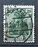 DR Mi. 143c Gestempelt, Geprüft, Mi. 130,-€ (1316) - Used Stamps