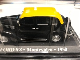 FORD V8 - TAXI MONTEVIDEO 1950 - 1/43 - COMME NEUVE SOUS BLISTER - Unclassified