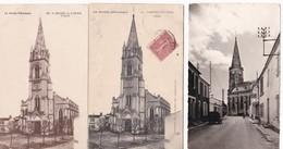 Lot De 11 CPA Et CPSM  / SAINT MICHEL EN L'HERM VENDEE / L'EGLISE (4) - Saint Michel En L'Herm