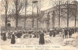 Dépt 22 - DINAN - Le Marché Aux Cochons - Les Remparts - (ELD N° 73) - Dinand - PORCS - Dinan