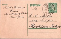 ! 1 Beleg 1925 Aus Nöbdenitz In Thüringen, KOS, Kreisobersegmentstempel - Germany