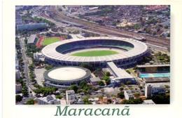 Postcard Stadium Rio De Janeiro Maracanà Brasile Stadion Stadio - Estadio - Stade - Sports - Football  Soccer - Calcio