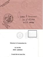 FFA - 2 LETTRES DU BPM 524 DE SPIRE / SPEYER - 10° RÉGIMENT GÉNIE - 1992 - 1993 - Marcophilie (Lettres)