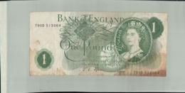 BILLET Banque Bank Of England 1 Pound London-Janv 2020  Clas Gera - 1 Pound