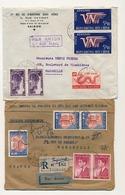 VIET-NAM - Ensemble De 20 Enveloppes, Plupart Affranchissements Composés, Années 50 à 90 - Vietnam