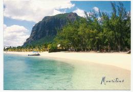 Le Morne, Sa Plage.Maurice.  Carte Postale Neuve Non Circulée - Mauritius