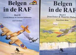 Belgen In De RAF. 3 Boeken - 1914-18