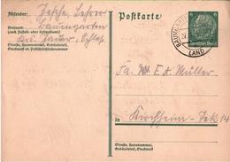 ! 1 Beleg 1933 Aus Baumgarten Kreis Jauer, Schlesien - Allemagne