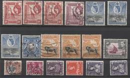 Uganda - Tanganyika - Kenya   46  Zegels Restant Of Collection - Dubbels - See Scan - Autres - Afrique