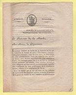 Prefet De La Manche - 12 Fructidor An 9 - Armee De Terre Etat Des Conscrits - Documents Historiques