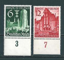 MiNr. 714-715 **  (0692) - Germany