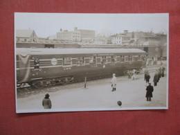 RPPC   Coronation Scot  Train  >  Ref  3856 - Trenes