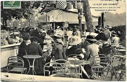 A2 Haute Vienne 87 LIMOGES La Clef Des Champs Kermesse Des 3 Et 4 Juillet 1909 Un Coin Du Restaurant TBE - Limoges