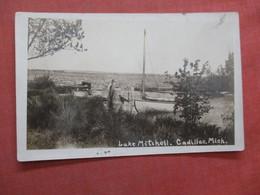 RPPC  Lake Mitchell  Cadillac  - Michigan >  Ref  3856 - Estados Unidos